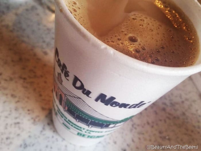 Cafe du Monde coffee Beauty and the Beets