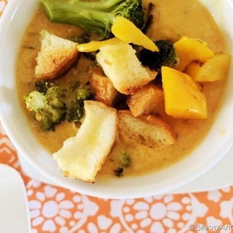Easy Carrot Ginger Soup