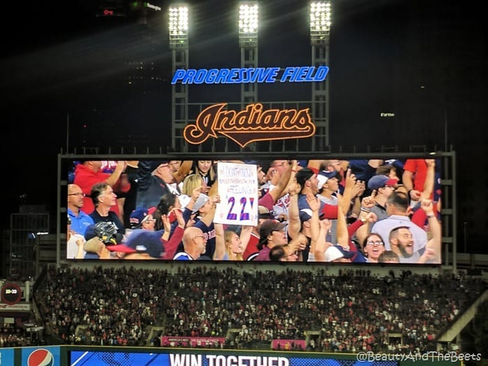 Cleveland Indians feeling 22 Beauty and the Beets