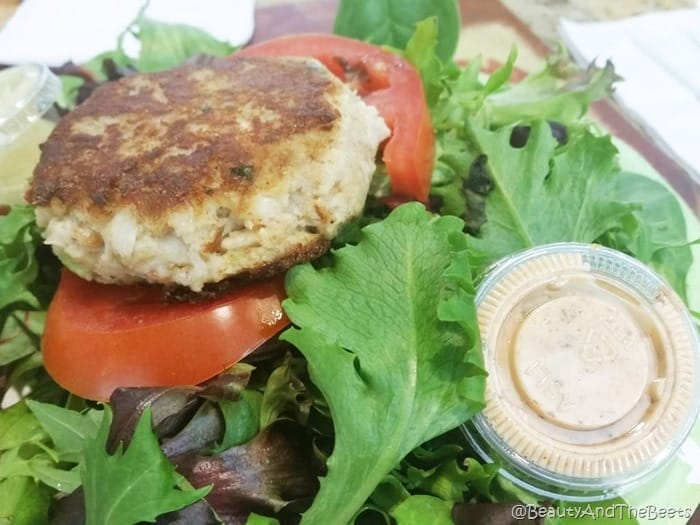 Crabcake Passion Meals from the Heart Cafe Beauty and the Beets