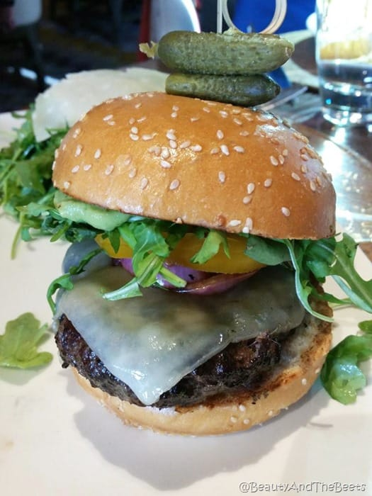 Giada Las Vegas burger Beauty and the Beets