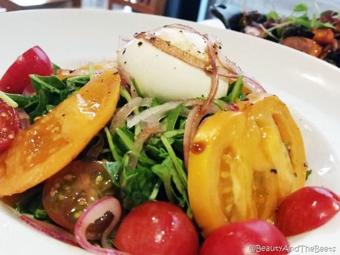 Greek Beet salad Zinc Brasserie Sandusky Beauty and the Beets