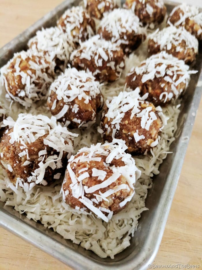 No Bake Date and Nut Cookies Beauty and the Beets (2)