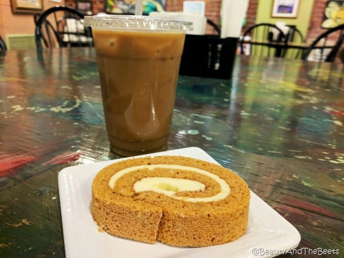 Pumpkin Roll Mr Smiths Coffee House Sandusky Beauty and the Beets