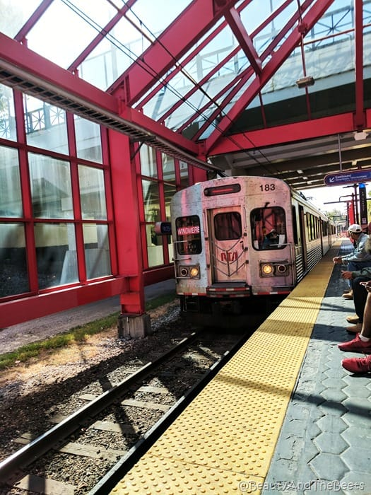 RTA Cleveland Ohio City Station Beauty and the Beets
