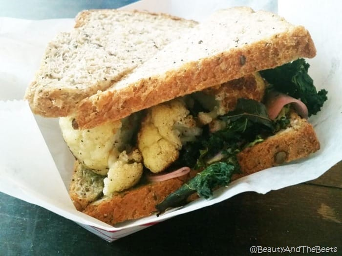 Roasted Cauliflower Sandwich Killer Po Boys New Orleans Beauty and the Beets