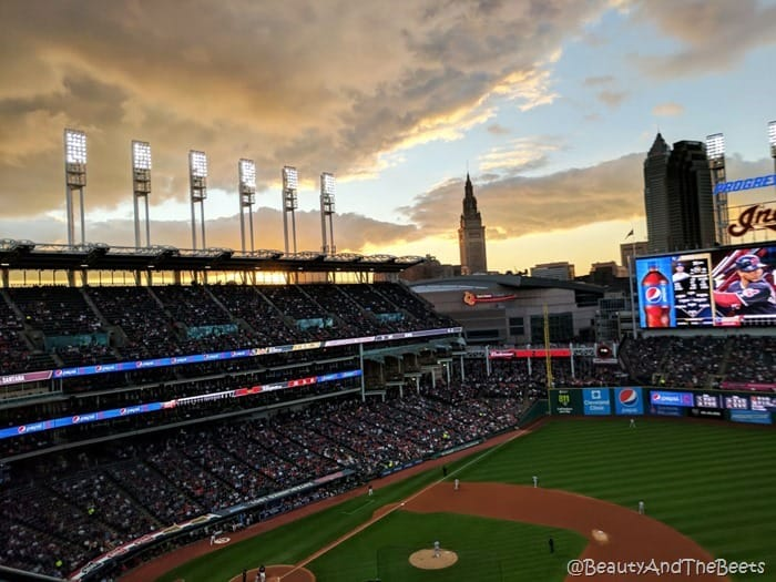 Sunset Progressive Field Beauty and the Beets