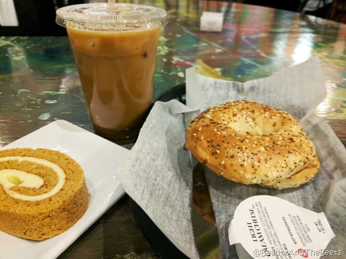 bagel and coffee Mr Smiths Coffee House Sandusky Beauty and the Beets