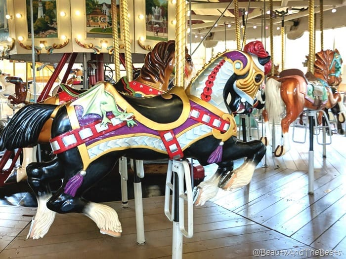 dragon horse Merry Go Round Museum Sandusky Beauty and the Beets
