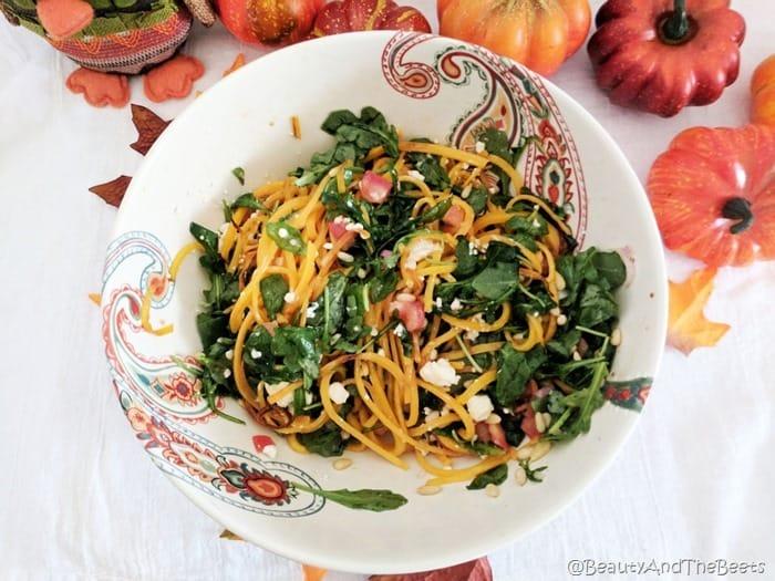Butternut Squash Arugula Salad Beauty and the Beets (3)
