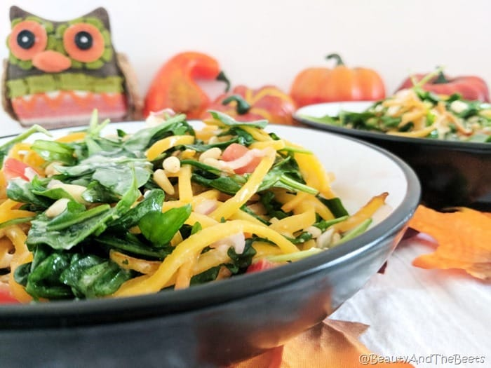 Butternut Squash Arugula Salad Beauty and the Beets (4)