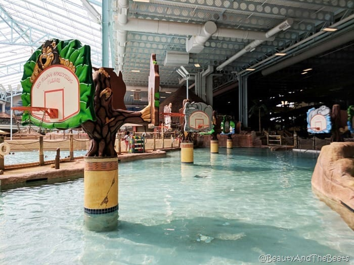 basketball waterpark Kalahari Resort Sandusky Beauty and the Beets