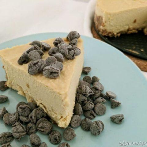 #NoBake Vegan Cheesecake