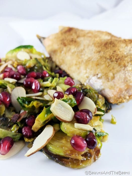 Miso Brussels Sprouts Beauty and the Beets