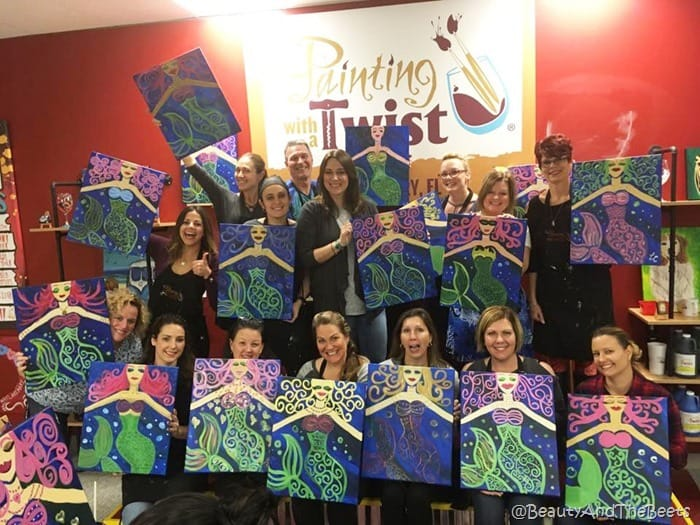 Painting with a Twist Lake Mary Beauty and the Beets