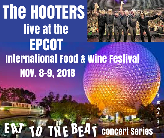 The Hooters Live at Epcot Beauty and the Beets 2018