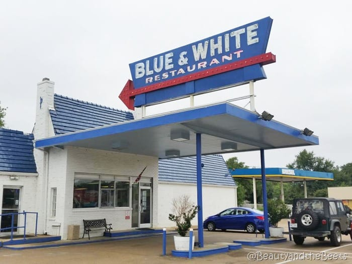 the Blue & White Restaurant Tunica Beauty and the Beets