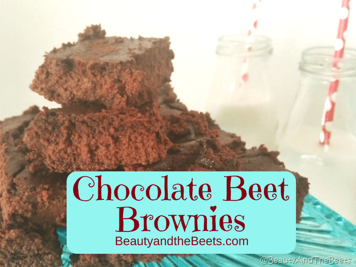 Chocolate Beet Brownies a recipe by Beauty and the Beets