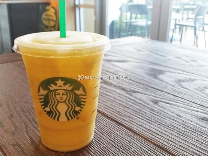 #OrangeDrink Starbucks Beauty and the Beets