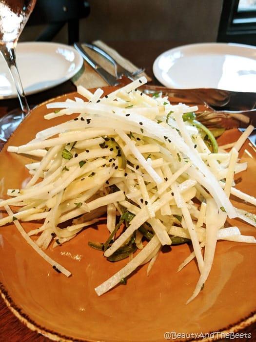 Jicama Salad Wine Bar George Beauty and the Beets