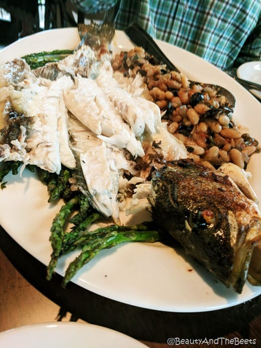 filet Greek Sea Bass Wine Bar George Beauty and the Beets
