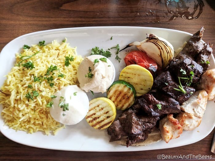 mixed grill plate sofra mediterranean grill beauty and the beets