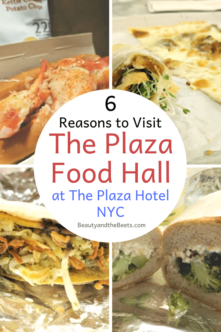 6 Reasons to visit the Plaza Food Hall at The Plaza Hotel. #NewYorkCity #traveleats #LukesLobster #no7sub