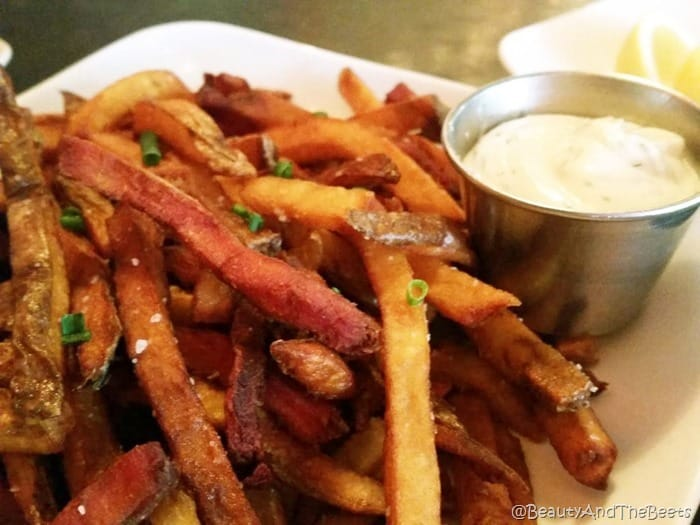 Root Vegetable Fries Fiction Kitchen Raleigh Beauty and the Beets