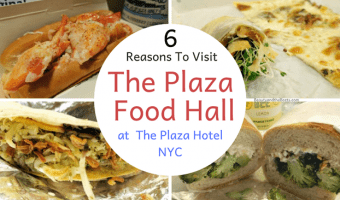 Plaza Food Hall – 6 Reasons to Eat in the Basement of The Plaza Hotel NYC