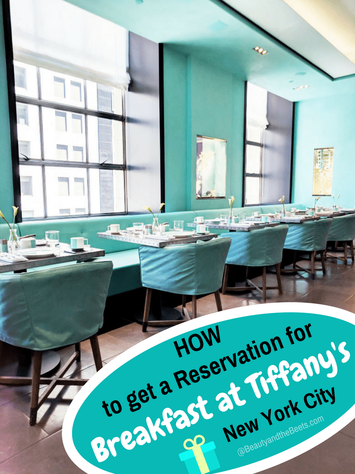 How to get a reservation for Breakfast at Tiffany's #BreakfastatTiffanys #BlueBoxCafe #FifthAvenue
