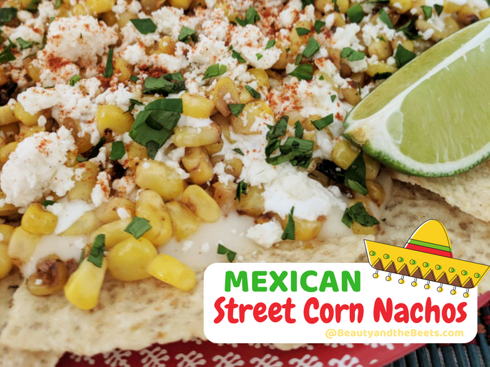 MEXICAN Street Corn Nachos Beauty and the Streets sombrero