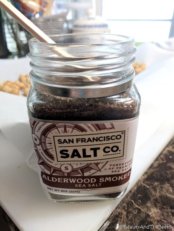 San Francisco Salt Company Smoked Salt Beuty and the Beets