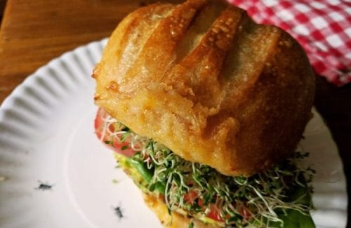 Easy Brussels Sprouts Burgers recipe