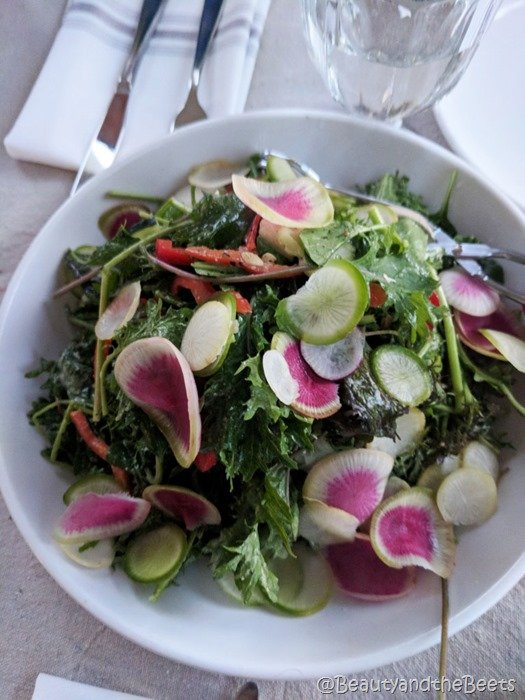 #FarmFoodTour Kansas Beauty and the Beets radish salad