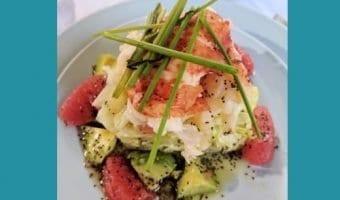 Blue Box Cafe Lobster Grapefruit recipe copycat