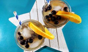 Orange Vanilla Spritzer for Macy's Culinary Council