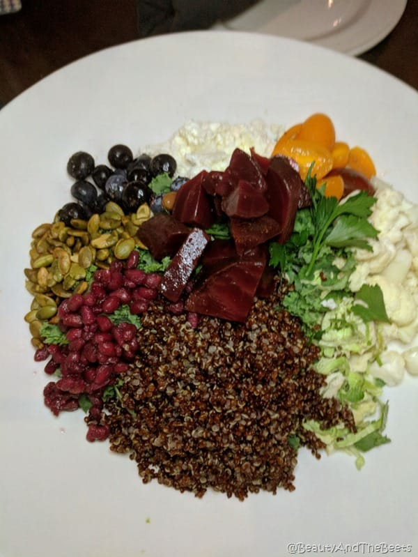 Yard House Oktoberfest Beauty and the Beets Red Quinoa Salad