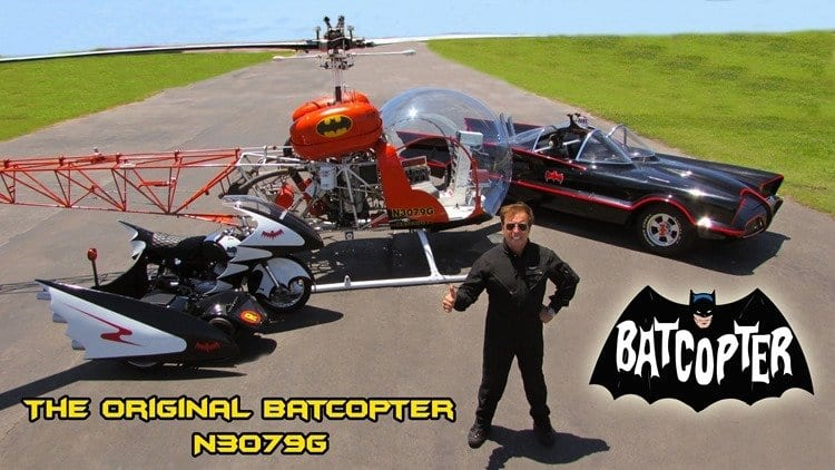 Capt. Nock Batcopter N3079g 1966 Batmobile Batcycle L