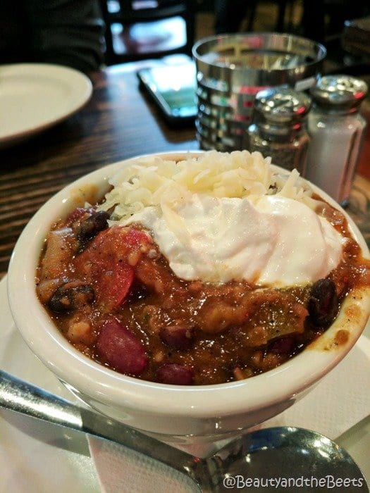 Winnies Manayunk Beauty and the Beets Vegetarian Chili