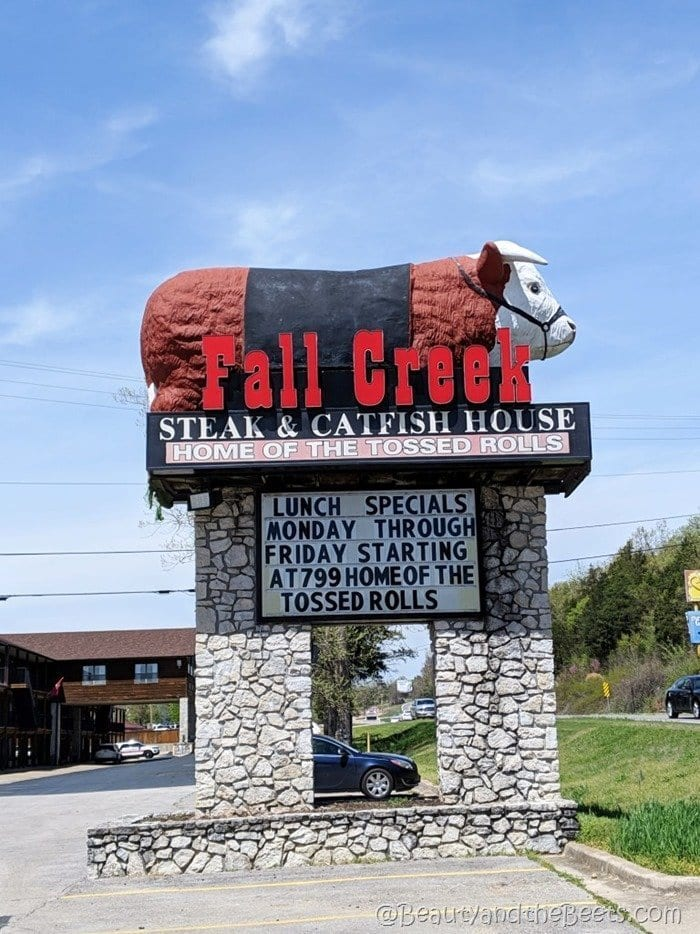 Branson Fall Creek Steak and Catfish House Beauty and the Beets