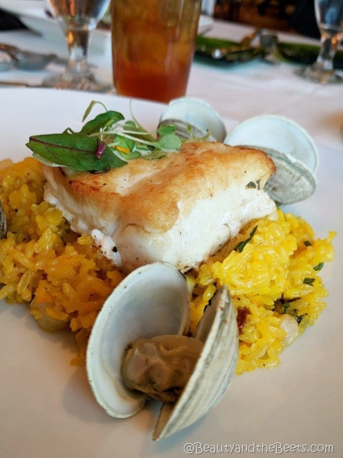 Citricos Disney Florida Red Snapper Beauty and the Beets