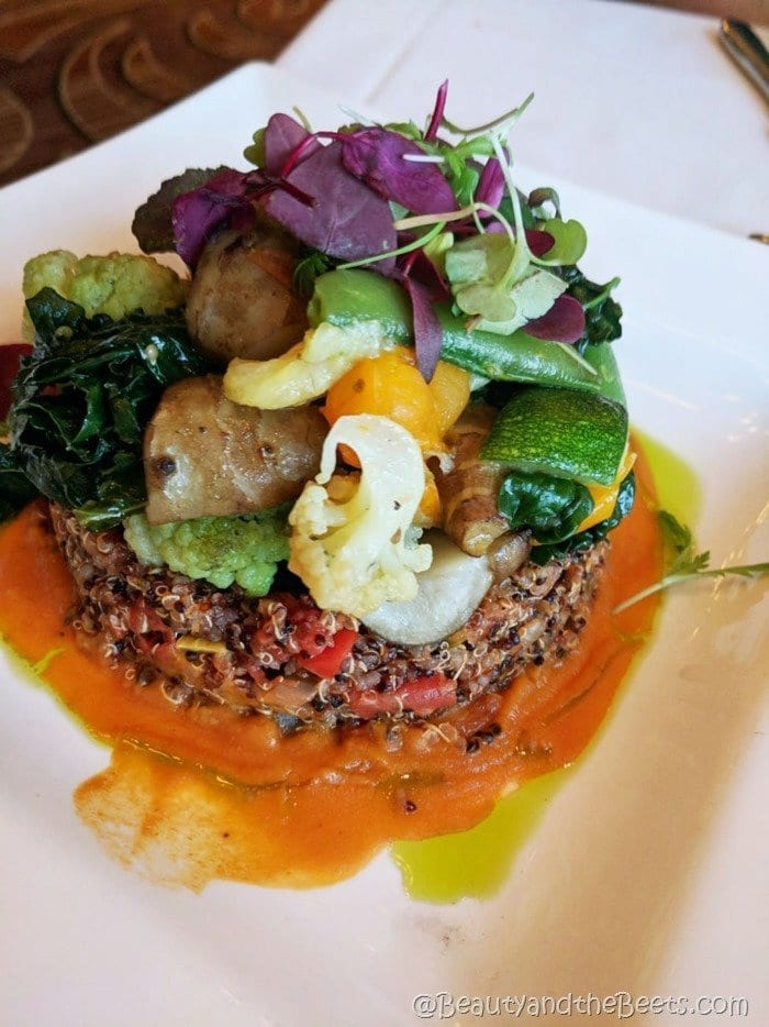 Citricos Disney Quinoa and Provençale Ratatouille Beauty and the Beets