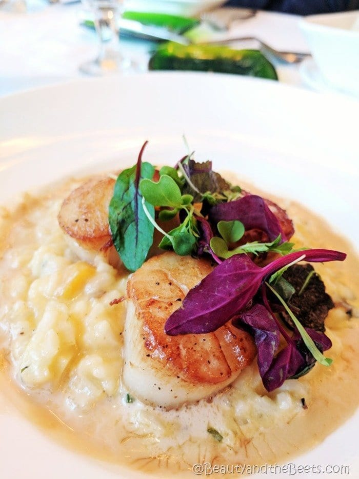 Citricos Disney Scallops Risotto Beauty and the Beets
