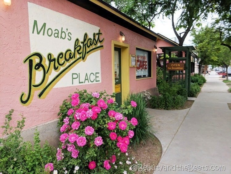 Moab's Breakfast Place Jailhouse Cafe Beauty and the Beets