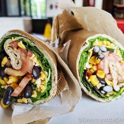 Chick fil A Vegetarian wrap