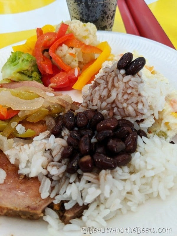 Ham beans rice Dominican Republic Beauty and the Beets