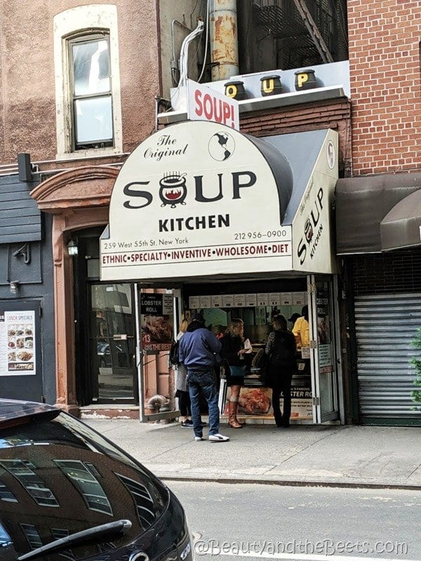 Original Soup Kitchen NYC Beauty and the Beets