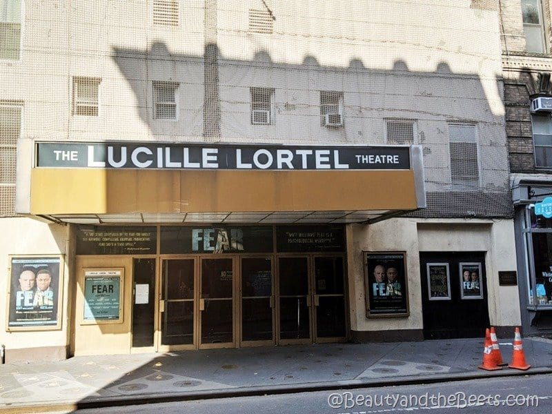 The Lucille Lortel Theatre NYC Beauty and the Beets