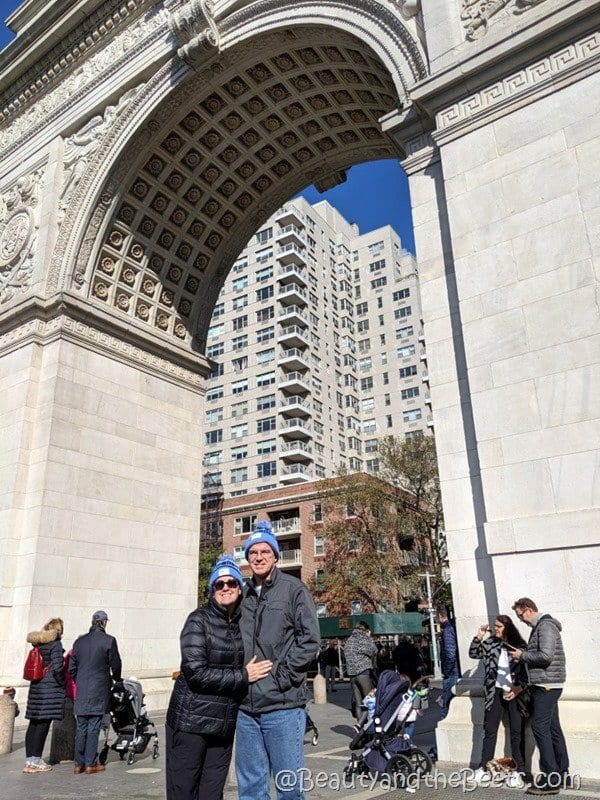 Washington Square NYC Beauty and the Beets
