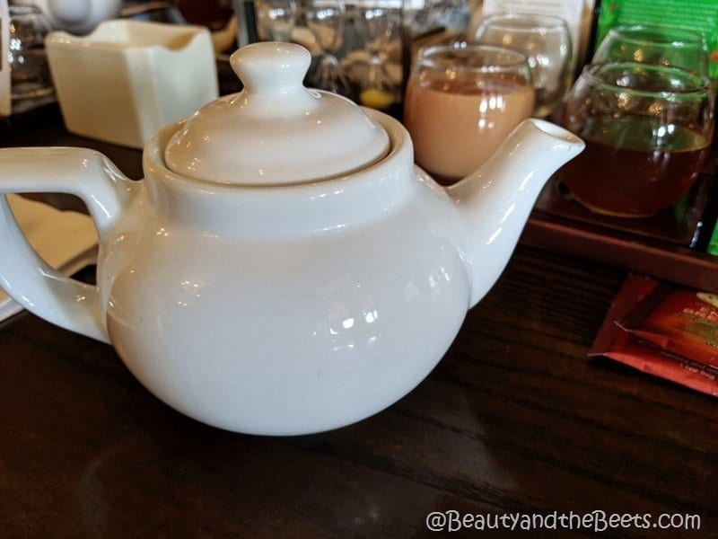Disney Tea Experience teapot Beauty and the Beets